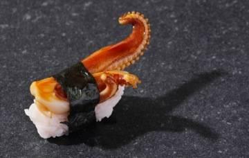 Sushi Nigiri calamar